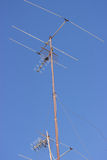 TV antenna Royalty Free Stock Images