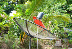 TV Antenna dish Stock Image