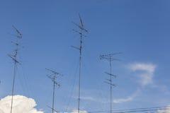 TV antenna Stock Photos