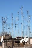 TV antennas Royalty Free Stock Photos