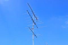 TV-antenne Stock Afbeeldingen