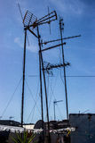 TV anteny Obraz Stock