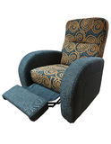 TV armchair. Very functional comfort TV armchair for quality relaxation Royalty Free Stock Photo