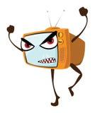 TV arrabbiata Illustrazione di Stock