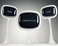 TV av framtiden. Royaltyfri Fotografi