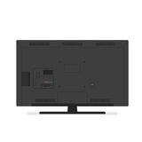 Tv back side Royalty Free Stock Images