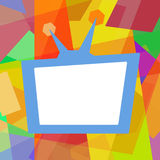 TV background Royalty Free Stock Images