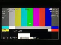 Tv bars Stock Image