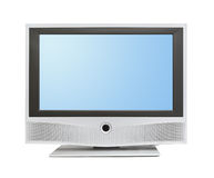 TV with blank screen Royalty Free Stock Photo