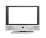 TV with blank screen Stock Photo