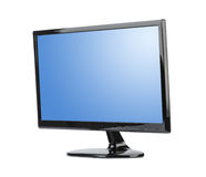 TV with blank screen Stock Photography