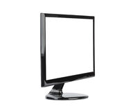 TV with blank screen Royalty Free Stock Photography