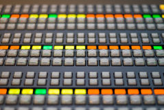 TV BROADCAST SWITCHER Stock Images