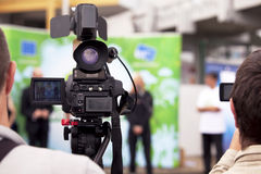 TV broadcasting Royalty Free Stock Images