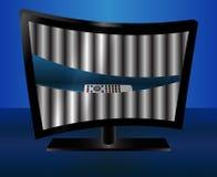 TV buena Arte-vector para su diseño Imagen de archivo libre de regalías