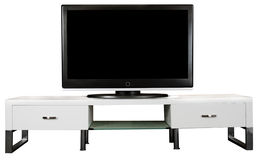 TV Cabinet Stock Photo