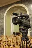TV camera Stock Images