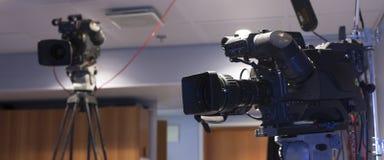 TV-camera Stock Foto's