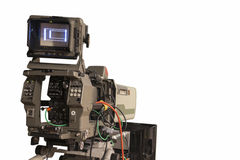 TV-camera Stock Afbeelding