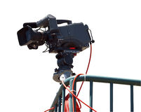 Free TV Camera Royalty Free Stock Photo - 9591725
