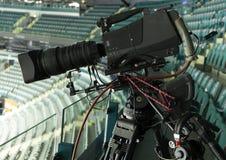 TV camera Stock Photo