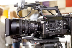 Tv camera Royalty Free Stock Image