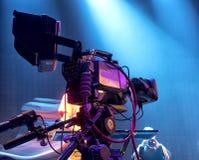 TV-camera in een overleg hal Royalty-vrije Stock Afbeelding