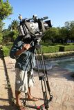 TV camera Stock Photography