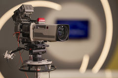 Tv Camera Stock Photography