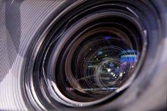 TV camera, TV broadcast hockey Royalty Free Stock Image