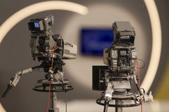 Tv Camera Royalty Free Stock Image