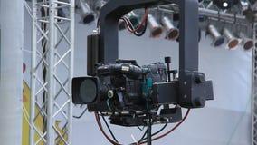 TV-camera. Video filming stock video