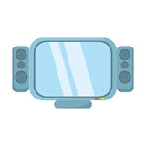 Tv channel movie sound. Illustration eps 10 royalty free illustration