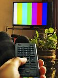 TV Channels Adjustment Royalty Free Stock Photo