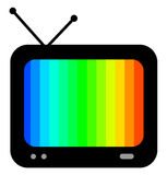 Tv color Royalty Free Stock Image