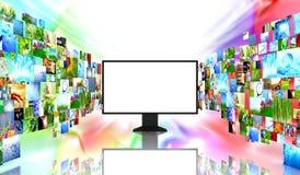 TV con imágenes