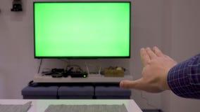 TV con la característica del control del gesto