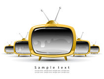 Tv concept vol 1 Royalty Free Stock Photo