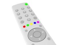 Tv control. 3d illustration of tv control closeup Stock Image