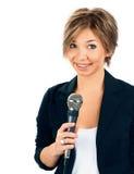 TV Correspondent. Stock Images