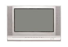TV d'isolement Images libres de droits