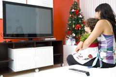TV de observation Photos libres de droits