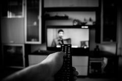 TV de observation Photo stock