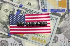 TV debates Stock Photo