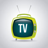 Tv design Royalty Free Stock Images