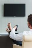 TV di sorveglianza in hotel Fotografia Stock