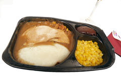 TV dinner Royalty Free Stock Photography