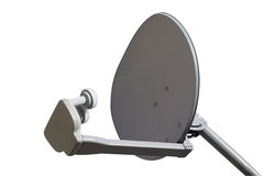 TV dish isolated Stock Image