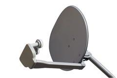 TV dish isolated stock image
