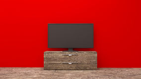 TV display Royalty Free Stock Photography